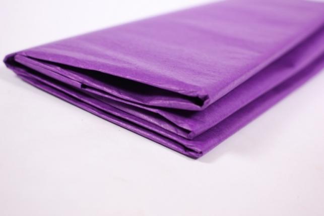 бумага тишью 10 шт 50х66 см, фиолетовый