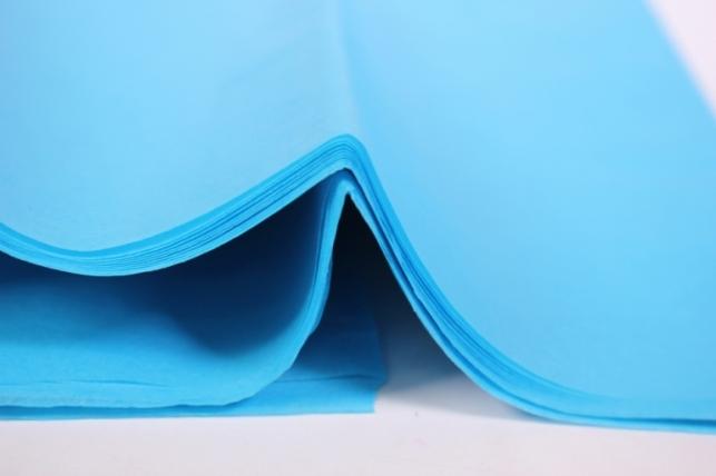 бумага тишью 10 шт 50х66 см, голубой