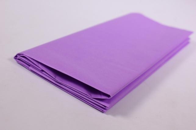 Бумага тишью 10 шт 50х66 см, лиловый