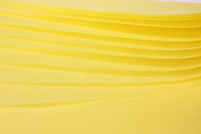 бумага тишью 10 шт 50х66 см, лимонный
