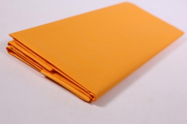 Бумага тишью 10 шт 50х66 см, оранжевый