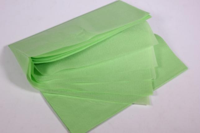 бумага тишью 10 шт 50х66 см, салатовый