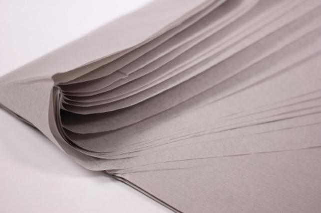 бумага тишью 10 шт 50х66 см, серый
