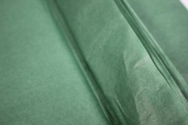 бумага тишью 10 шт 50х66 см, темно-зеленый