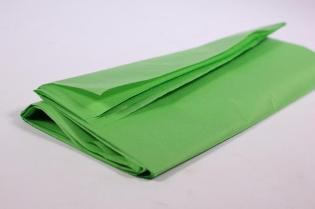 бумага тишью 10 шт 50х66 см, зеленое яблоко