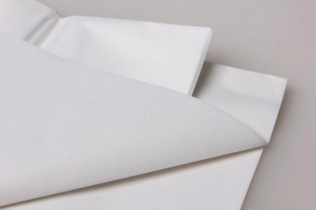 бумага тишью белая 50х66см (10 листов в упаковке)