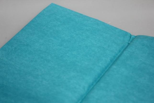 бумага тишью бирюза 50х50см (10 листов в упаковке)