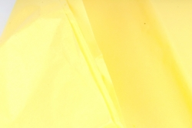 Бумага  тишью (Ч) лимон  50*66см (10 листов в уп)