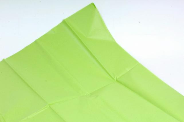Бумага  тишью (Ч) салатовая  50*66см (10 листов в уп)