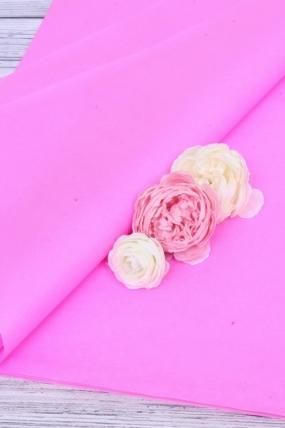 """Бумага тишью для цветов 50*76см №006 ярко.розов. """"Италия"""" 21гр 24листа  F006A-FSC"""