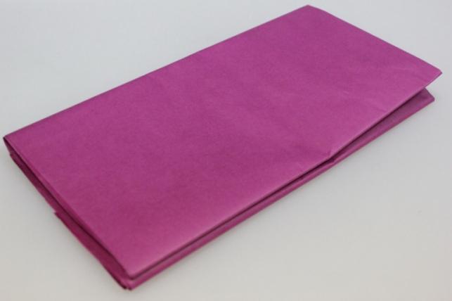 бумага тишью фуксия 50х66см (10 листов в упаковке)
