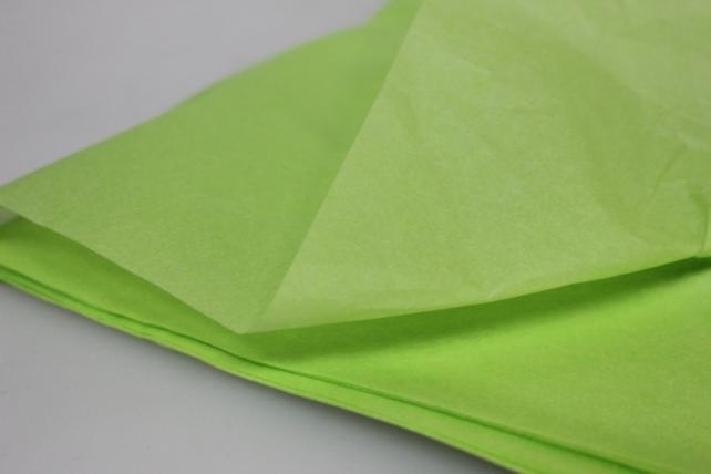 бумага тишью бумага тишью лайм 76х50см (10 листов в уп) 7538