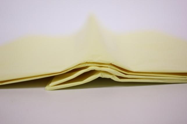 бумага тишью лимон 76х50см (10 листов в упаковке)
