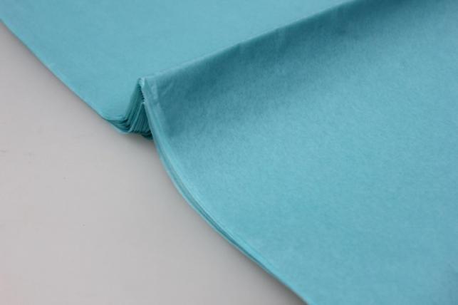 бумага тишью морская волна 50х50см (10 листов в упаковке)