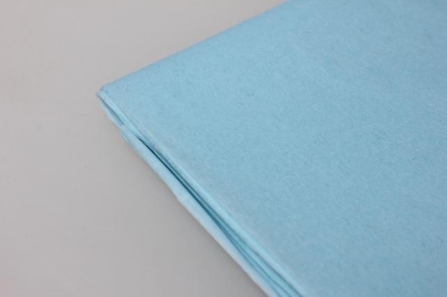 бумага тишью нежно-голубая 50х66см (10 листов в упаковке)