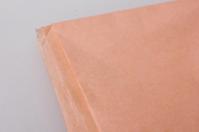 бумага тишью персиковая 50х50см (10 листов в упаковке)