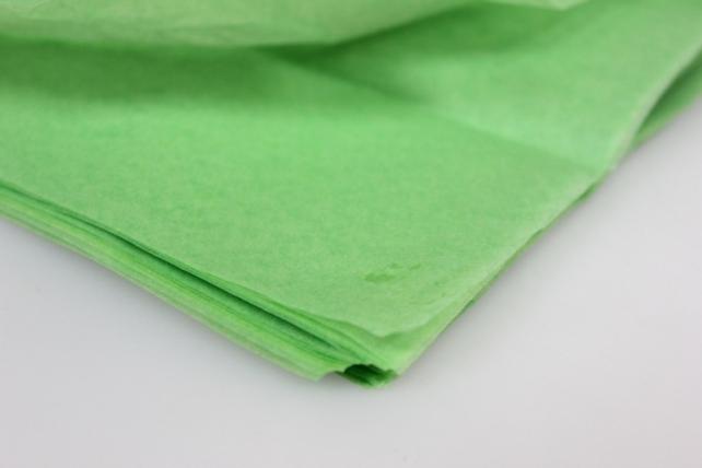 бумага тишью бумага тишью салатовая 76х50см (10 листов в уп) 7541