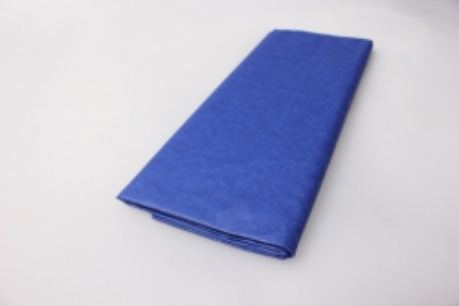 бумага  тишью синяя 76х50см (10 листов в уп)