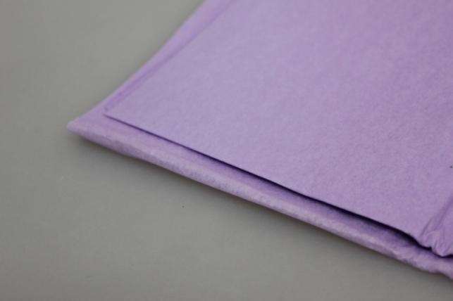 бумага тишью сиреневая 50х50см (10 листов в упаковке)