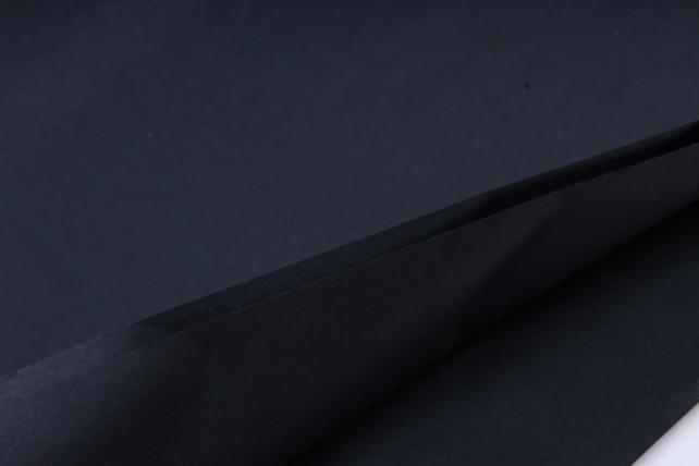 """Бумага тишью 50*76см №145 Черный """"Италия"""" в листах 18гр 10 листов"""