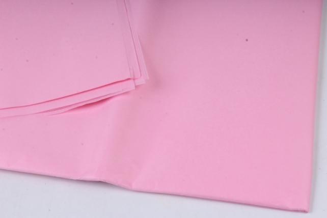 """Бумага тишью 50*76см №000 Светло розовый """"Италия"""" в листах 18гр 10 листов"""
