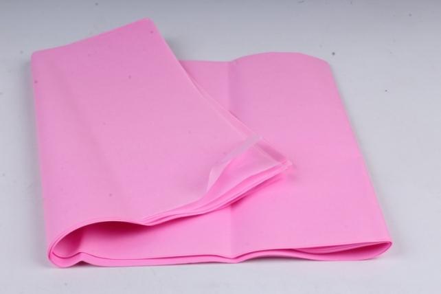 """Бумага тишью 50*76см №004 Темно розовый """"Италия"""" в листах 18гр 10 листов"""