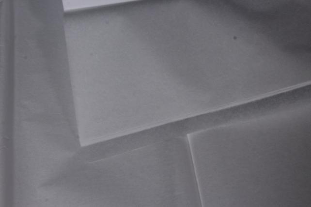 Бумага тишью 51*66см  Белая в листах 17гр 10 листов  0001  PTQ0001 (М)