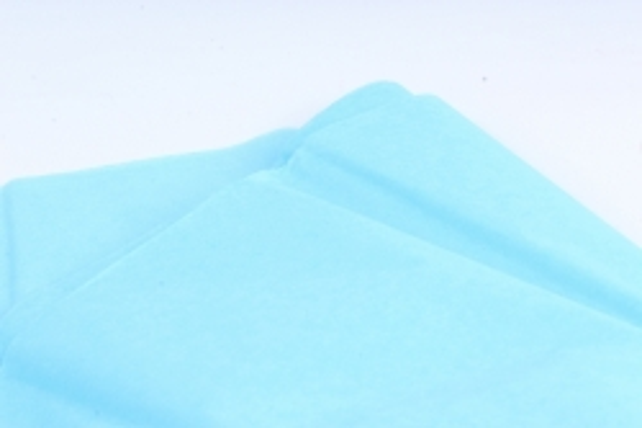 Бумага тишью 51*66см  Голубая в листах 17гр 10 листов  6202  PTQ6202 (М)