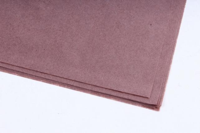 Бумага тишью 51*66см  Коричневая в листах 17гр 10 листов  498 PTQ498 (М)