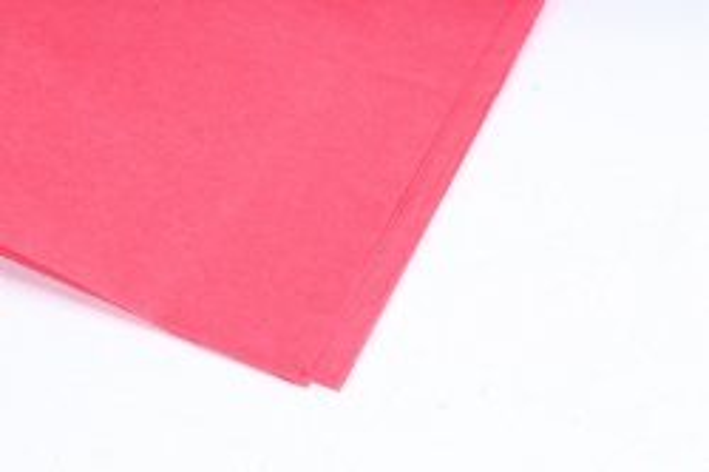 Бумага тишью 51*66см  Красная в листах 17гр 10 листов  1307  PTQ1307 (М)
