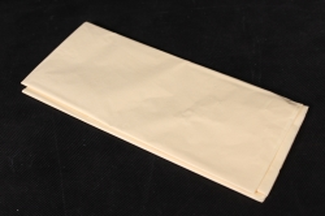 Бумага тишью 51*66см  Кремовая в листах 17гр 10 листов  1201  PTQ1201 (М)