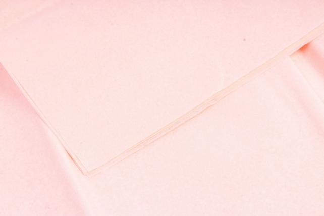 Бумага тишью 51*61см  Персиковая в листах 17гр 10 листов  162  PTQ162 (М)
