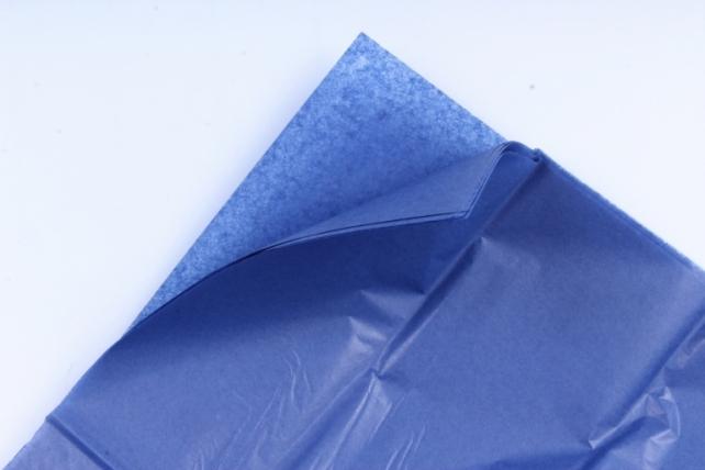 Бумага тишью 51*66см  Синяя в листах 17гр 10 листов  2860  PTQ2860 (М)