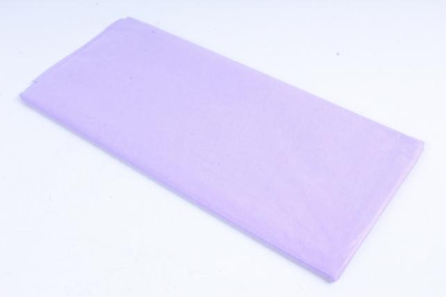 Бумага тишью 51*66см  Светло Фиолетовая в листах 17гр 10 листов  264  PTQ264 (М)