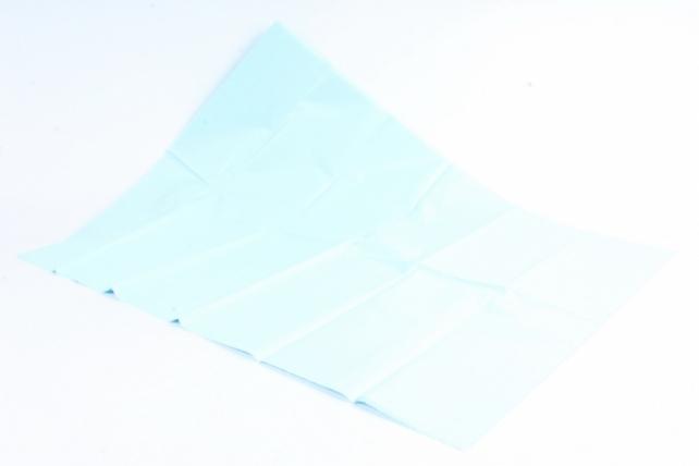 Бумага тишью 51*66см  Светло Голубая в листах 17гр 10 листов  6102 PTQ6102 (М)