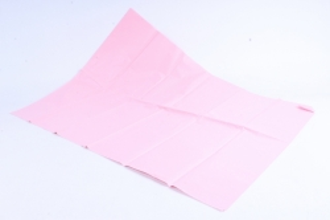 Бумага тишью 51*66см  Светло Розовая в листах 17гр 10 листов  1896  PTQ1896 (М)