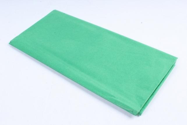 Бумага тишью 51*66см  Зеленая в листах 17гр 10 листов  355  PTQ355 (М)