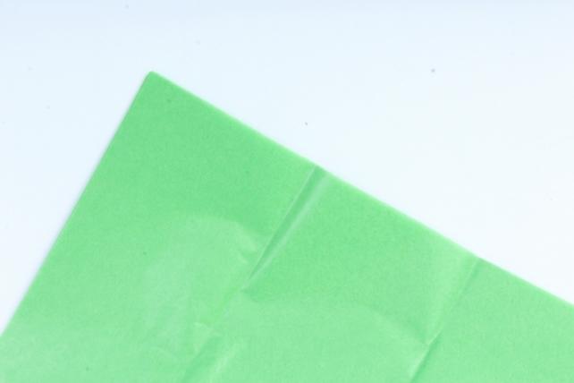 Бумага тишью 51*66см  Зеленое Яблоко в листах 17гр 10 листов  360  PTQ360 (М)