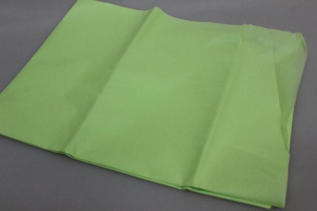 Бумага тишью светло-салатовая 50х50см (10 листов в упаковке)