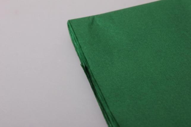бумага тишью темно-зеленая 50х50см (10 листов в уппковке)