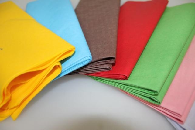 бумага тишью бумага тишью зеленая 76х50см (10 листов в уп) 7536