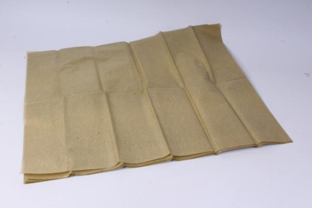 Бумага  тишью золото  50*66см (10 листов в уп)
