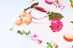 Бумага  ГЛЯНЕЦ 100/368 Французский завтрак   (68*98см)  (10 лист.)