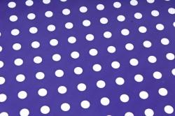 Бумага  ГЛЯНЕЦ 100/001-55 Горошек синий 0,7*1м (10 лист.)