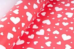 Бумага  ГЛЯНЕЦ 100/464 Мозаика сердец 68*98см (10 листов)