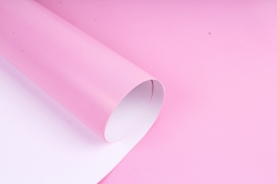 Бумага  ГЛЯНЕЦ 100/000-61 однотонная розовая (68*98см)  (10 лист.)