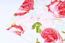 Бумага  ГЛЯНЕЦ 100/370 Розовый аромат   (68*98см)  (10 лист.)