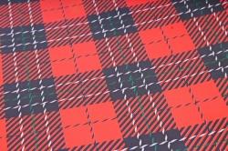 Бумага  ГЛЯНЕЦ 100/646 Шотландский плед  68*98см (10 лист.)