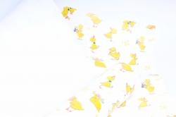 Бумага  ГЛЯНЕЦ 100/826 Смелые утята (68*98см)  (10 лист.)