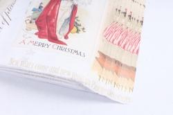 Бумага  ГЛЯНЕЦ Нов. Год  Новогодние открытки  0,7*1м (10 лист.) 78г/м2  М